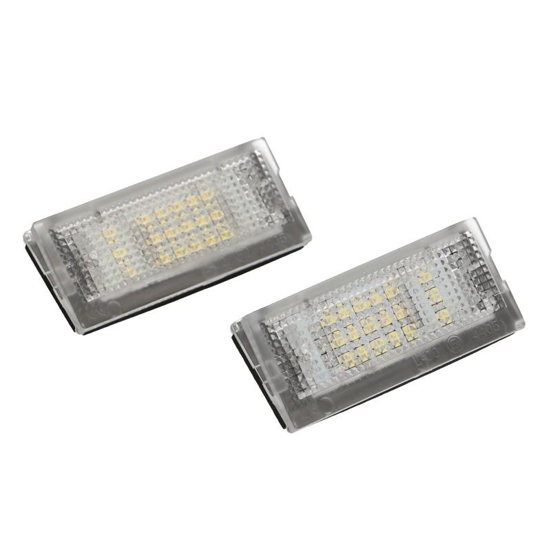 Lampki Tablicy Rejestracyjnej Led Do Bmw E46